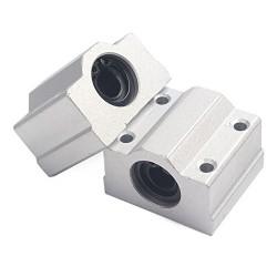 1pcs SC25UU 25mm Linear Ball Al Block Bearing for CNC Robotics DIY Projects