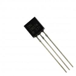 10Pcs 2N2907 Bipolar (BJT) Single Transistor, PNP, -60 V, 200 MHz, 400 mW, -600 mA, 50 hFE