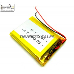 3.7V 800mAh Polymer Li-ion battery Lipo for GPS, PDA, DVD, iPod, Tablet, PC and Drones