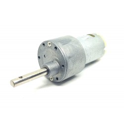 12v 10 Kg-cm 30 RPM DC Side Shaft High Torque Geared Motor Heavy Duty