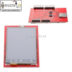 """2.4 Inch TFT LCD Shield Socket Touch Panel Module 2.4"""" for UNO R3"""