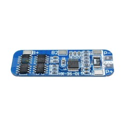 3S BMS 12V 10A 11.1V - 12.6V 3 Cell 18650 Lithium Battery Charging Protection Board Battery Management System Module