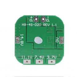 4S BMS 15V 20A 14.8V - 16.8V 4 Cell 18650 Li-ion Lithium-ion Battery Charging Protection Board Battery Management System Module