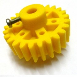 2pcs Plastic Spur gear 25 Teeth 39mm dia, 12mm Width, 6mm hole for DIY Projects
