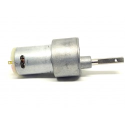 12v 10 Kg-cm 300 rpm DC Side Shaft High Torque Geared Motor Heavy Duty