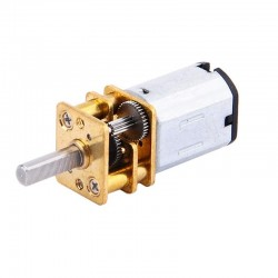 1pcs N20 3.7V - 6V 100 RPM Micro Gear Reduction DC Motor with 30:1 Metal Gearbox For RC Car Robot Toys DIY
