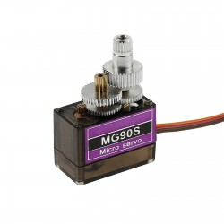 MG90S Tower Pro Metal Geared Servo Motor for Plane Helicopter Boat Car Quadcopter