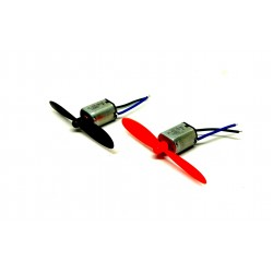 2pcs N20 3.7V Mini Drone DC Motor 10x12x15mm 6000 RPM + 2Pcs 55m Propeller For Airplane Helicopter Drones Toy Car Robot DIY